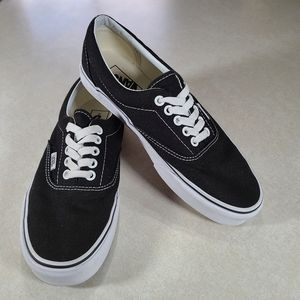 Vans Era Black and White Sneakers Size 8.5